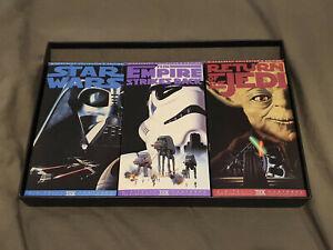 Original Star Wars Trilogy, 1995 NTSC VHS Widescreen Edition