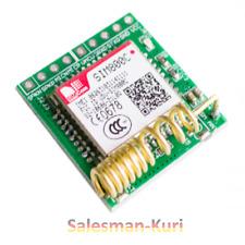 DE LAGER !  5 Volt SIM800C GSM GPS QUAD BAND Modul wie SIM800L f. Arduino
