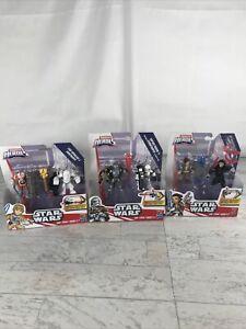 Star Wars Galactic Heroes LOT Hasbro Disney Rey/kyloRen/LUke/troopers/pharma