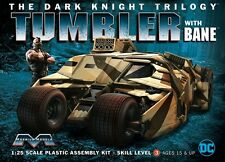 Moebius 1/25 Tumbler Batmobile w/ Bane Dark Knight Plastic Model Kit 967 MOE967