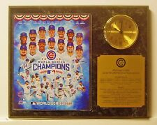 2016 World Series Champion Chicago Cubs Team 8x10 Picture Photo Clock Plaque Ver