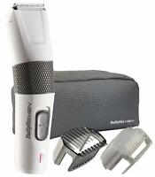 BaByliss E795E - Cortapelos 2 en 1 Cabello y barba Cuchillas Acero Inoxidable