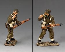King & Country D Day DD260 Britisch Commando Sssh ! MIB