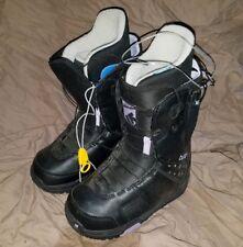 Burton Mint Girls/womens 4 Black/Purple Snowboard boots *New* $220 now $69!