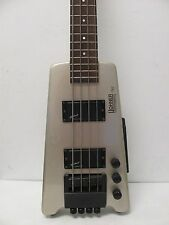 HOHNER B2 Headless Bass Licensed by STEINBERGER Silver Rare