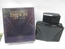 PASSION FOR MEN by ELIZABETH TAYLOR'S 4.0 oz 120ml COLOGNE SPLASH (DAP-ON SEALED
