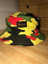 RARE SSUR PLUS Concrete Jungle Army Bucket Hat Urban GUERRILLA CAMO RA-FTW