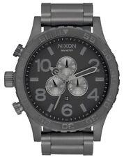Nixon Watch 51-30 Chrono Men's A083-632 51MM Gunmetal