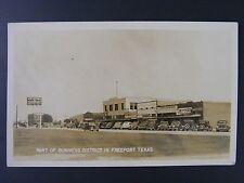 Freeport Texas Coca Cola Grand Prize Beer Sign Real Photo Postcard RPPC 1930-50