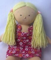 North American Bear Co Rosy Cheeks Blonde Big Sister Blonde Cloth Soft Doll 3572