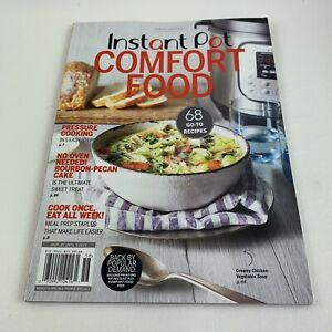 INSTANT POT COMFORT FOOD  RECIPES 2020 2021 FAST & EASY FAMILY FAVORITES