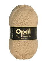 Opal 100g 4-fädig Uni Sockenwolle (5189 Camel)