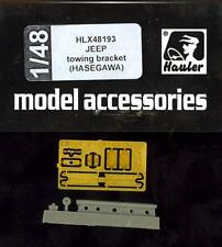 Hauler Models 1/48 WILLYS JEEP TOWING BRACKET Resin & Photo Etch Set