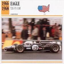 1966-1968 EAGLE T2G F1 Racing Classic Car Photo/Info Maxi Card