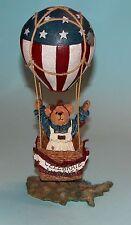 "Boyds Bears #2002-71 ""Betsy B Bearamerica Celebrate America"" hot air balloon NIB"
