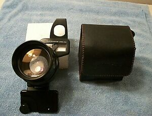Vintage Olympus 1.5x Teleconverter Lens for Camera w Case