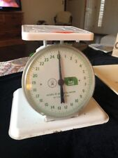 Vintage Sears Nursery Infant Baby Scale Weighs 25 Pounds By Ounces.