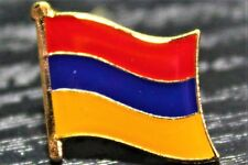 ARMENIA Armenian Country Metal Flag Lapel Pin Badge *NEW*
