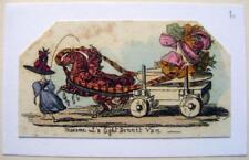 CARICATURES Geo Cruikshank Scraps & croquis Femmes Chapeaux Lumière Bonnet Van 1828
