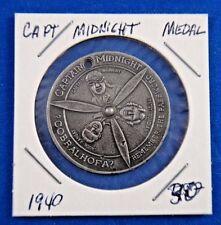 1940 Captain Midnight Flight Patrol Premium Medal of Membership
