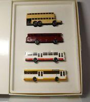 Wiking  1:87 H0  100 Jahre Motor Omnibus  4 MB Omnibusse  Bus Doppeldecker  OVP
