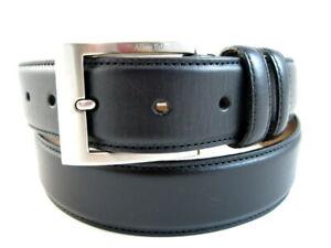 "Allen Edmonds ""WIDE BASIC"" Men's Dress Belt  #39501 Size 34  Black USA (512)"