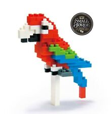 Nanoblock RED & GREEN MACAW - NBC-034 Level 2, 110 Pieces, NEW