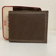 LEVIS Leather Brown Wallet 31LV1344