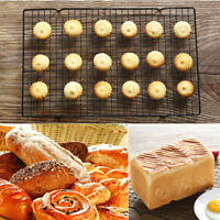 Nonstick Cooling Rack Mesh Grid Baking Cookie Biscuit Cake Drying Stand Wire