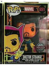 Funko Pop Marvel - Black Light Neon Doctor Strange Exclusive! PREORDER!!!