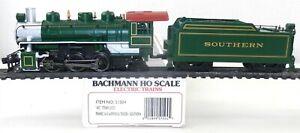 Bachmann HO #51504 SOU Southern PRAIRIE 2-6-2 STEAM LOCOMOTIVE Runs Nice ~ T125