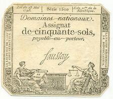 FRANCE 50 SOLS 1793