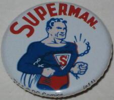 "Retro Superman ""Super Strength""  Pin Licensed by DC Comics 1.25"""