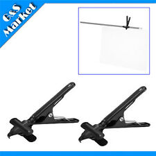 2PCS Background Stand Clamp Backdrop studio clamp