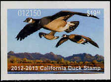 CALIFORNIA #42 2012 STATE DUCK STAMP ALEUTIAN CANADA GOOSE by Robert Steiner