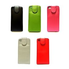 FOR APPLE IPHONE 5C PLAIN SOFT PU LEATHER FLIP IN VARIOUS COLOURS CASE COVER