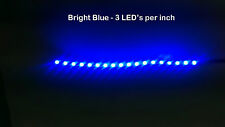 """6"""" Blue LED Strip 18 SMD LED NON Waterproof Flexible Light Interior accent glow"""