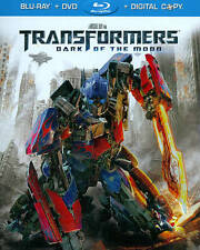 TRANSFORMERS: DARK OF THE MOON Blu-ray + DVD 2011 WIDESCREEN (2-Disc Set) NEW!!
