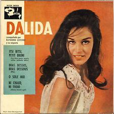 """DALIDA """"ITSI BITSI PETIT BIKINI"""" 60'S EP ESPAGNOL  BARCLAY 28255"""