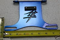 HAYABUSA FENDER ELIMINATOR TAIL TIDY BLUE LOGO PL 2008 2009 2010 2011 2012