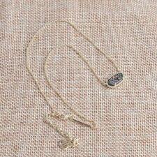 Kendra Scott Elisa Gold Pendant Necklace In Multi-color Drusy