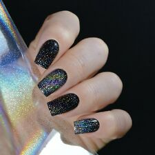 4*100cm Holographisch Nagelfolie Starry Sky Glitzer Foils Sticker Nail Decals