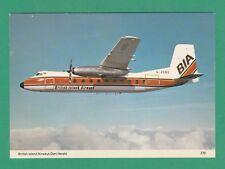 AEROPLANE - CHARLES SKILTON POSTCARD NO.279 - BRITISH ISLAND AIRWAYS DART HERALD