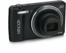 Minolta MN12Z-BK 20MP WiFi Digital Camera - 12x Optical Zoom w/HD Video 2.7