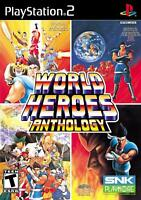 World Heroes Anthology Sony PlayStation 2 [SNK, PS2, 56 Characters] NEW