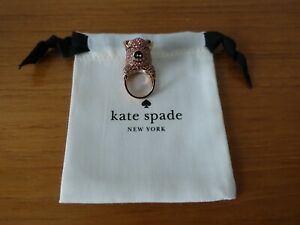 KATE SPADE NY IMAGINATION PAVE PIG RING. SIZE 7.  NEW