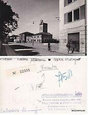 # TRECENTA: BOZZA FOTOGRAFICA n.  4064 - PIAZZA MARCONI -TORRE DELL'OROLOGIO