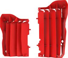 Honda radiador Lumbreras Rad guardias CRF 450 R 2017 - 2018/CRF 250 2018 Rojo