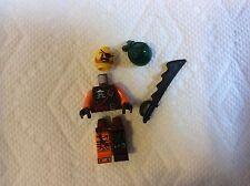 New Lego Ninjago SkyPirate Bucko Minifigure with Sword from Set 70605