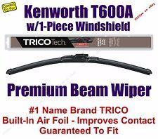 Wiper (Qty 1) Beam - fits 2007 Kenworth T600A w/1-Piece Windshield - 19180